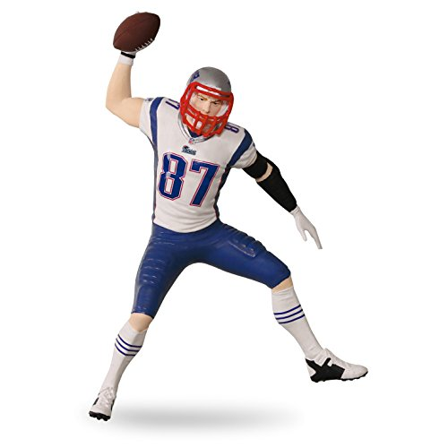 Hallmark Keepsake Patriots Gronkowski Football product image