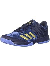 finest selection 9a642 b22f0 Womens Ligra 5 W Tennis-Shoes, WhiteMetallic SilverMetallic Silver, ·  adidas