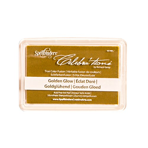 Spellbinders SCI-006 Celebrations Golden Glow Stamping/Craft Ink Pad