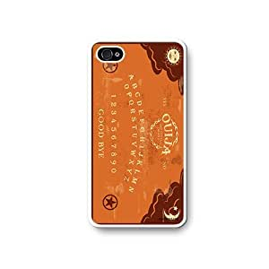 Ouiji Board Game Novelty iPhone 4 Quality Hard Snap On Case for iPhone 4 4S 4G - AT&T Sprint Verizon - White Case Cover