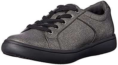ROCKPORT Women's Casual Walking Ariell Lace to Toe Shoe, Gold (Pewter), 5 US