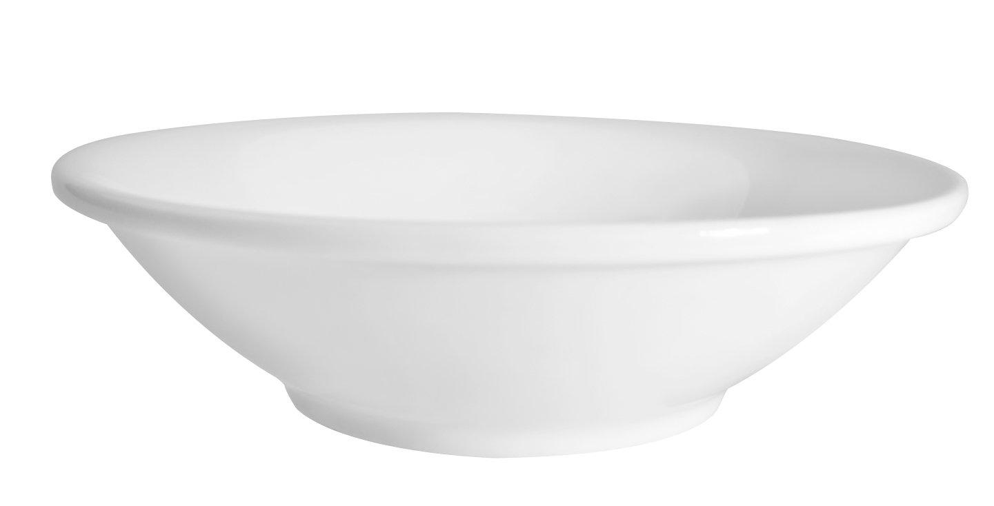 CAC China MAJ-11 5-1/2-Inch Majesty Bone China Fruit Bowl, 5-Ounce, Box of 36