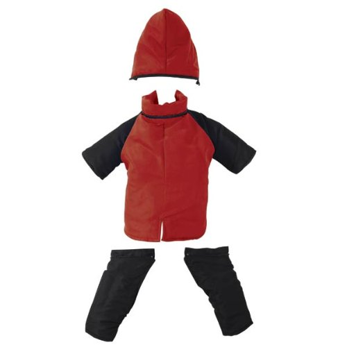 Casual Canine Poly-Filled Nylon Dog Snowsuit, XX-Large, Red, My Pet Supplies