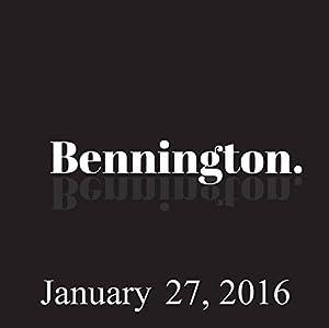 Bennington, Garry Tallent and Jay Oakerson, January 27, 2016 Radio/TV Program