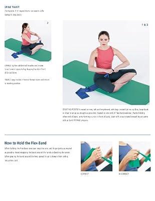 Stott Pilates Flex-band Regular Strength Green from Stott Pilates