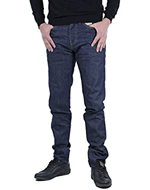 Men's 512 Slim Taper Fit Broken Raw Jeans, Blue