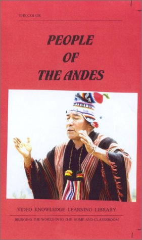 People of the Andes [VHS]