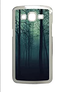 Dark Forest Polycarbonate Hard Case Cover for Samsung Grand 2/7106 Transparent by supermalls
