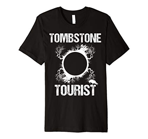 Tombstone Tourist Taphophilia Graveyard I Cemeteries Visitor Premium T-Shirt ()