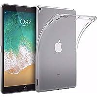 Innova Tech iPad Case Funda Transparente 9.7 Pulgadas 5ta / 6ta generacion 2017/2018 + Protector de Pantalla de Cristal Templado