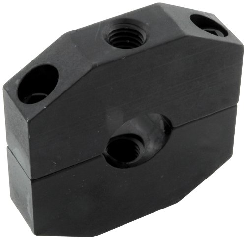 Aluminum Ballast - Allstar ALL14178 Black Anodized Aluminum Ballast Bracket for 1