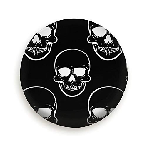 X-Large Front View Human Skull Universal Spare Wheel Tire Cover Fit for Truck Camper Van,Jeep,Trailer, Rv, SUV Trailer Accessories 15