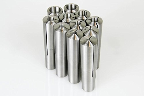 #9 Brown & Sharpe Taper Collet 11 Pc Set 1/8-3/4'' X 16Ths 1/4,3/8,1/2,5/8 & More by All Industrial (Image #1)