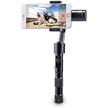 """Zhiyun Z1-Smooth Multi-function 3-Axis Handheld Steady Gimbal PTZ Camera Mount Built-in Independent IMU Module Stabilizer for all Smart Phones within 7"""" Screen, such as iPhone 6 plus, 6, 5S, 5C, SAMSUNG Galaxy S6 edge, S6, S5, S4, SIII, Note 4, 3, A7, A5, A3, Motorola, Sony, Sony Ericsson, Blackberry"""