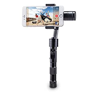 "Zhiyun Z1-Smooth Multi-function 3-Axis Handheld Steady Gimbal PTZ Camera Mount Built-in Independent IMU Module Stabilizer for all Smart Phones within 7"" Screen, such as iPhone 6 plus, 6, 5S, 5C, SAMSUNG Galaxy S6 edge, S6, S5, S4, SIII, Note 4, 3, A7, A5, A3, Motorola, Sony, Sony Ericsson, Blackberry"
