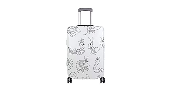 Anne Koplik Pick Dragonfly Travel Luggage Protector Case Suitcase Protector For Man/&Woman Fits 18-32 Inch Luggage