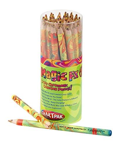 Koh-I-Noor Magic FX Coloring Pencils, Pack of 30, Original Mix (FA3405.30) by KOH-I-NOOR