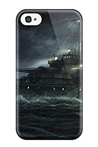 Awesome Ship Flip Case With Fashion Design For Iphone 4/4s