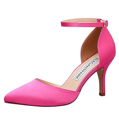 ElegantPark HC1811 Women Pointed Toe High Heel Pumps