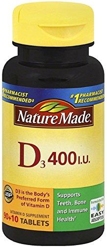 Nm Vitamin D 400 Iu Size 100ct Pv Vitamin D 400 Iu 100ct
