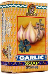 Garlic Indio Products Soap