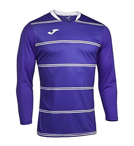 Joma 100253.100 - Camiseta de equipación de manga larga para hombre color negro, talla 6XS-5XS Violeta