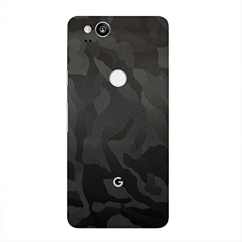 Gunmetal Carbon Fiber 7 Layer Skinz Custom Skin Wrap Compatible with Google Pixel 2