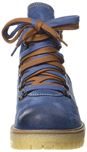 Marco Gedrongen Prijs Damen Stiefel 26253 Blau (comb Denim)