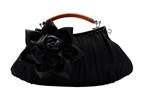 Style série Soirée Mères des Elégant Sac Fête Noir 2 Mariage Fleur Heyjewels Multi Multicolore BqPw0znRE