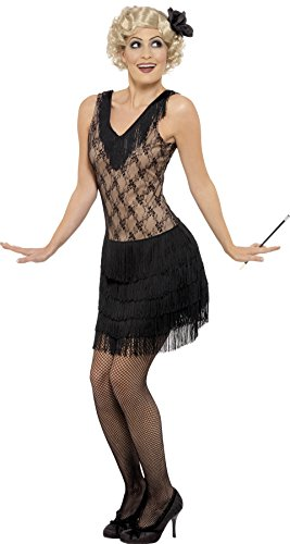 Smiffy's Women's All that Jazz Costume, Dress and Hair pi...