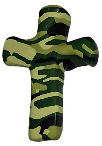 Comforting Gifts - Miniature Hand Held Comforting Clay Cross With Greeting Card - Shaped To Fit Any Hand - 3