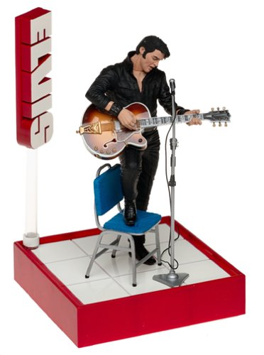 Mcfarlane Toys Rock N' Roll Action Figure Elvis #1 '68 Comeback from Rock and Roll
