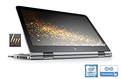 """HP Envy Touch 13t x360 Convertible Ultrabook 7th Gen Intel i7 up to 3.5 GHz 16GB 512GB SSD 13.3"""" QHD+ B&O AUDIO WebCam WiFi (Certified Refurbished)"""