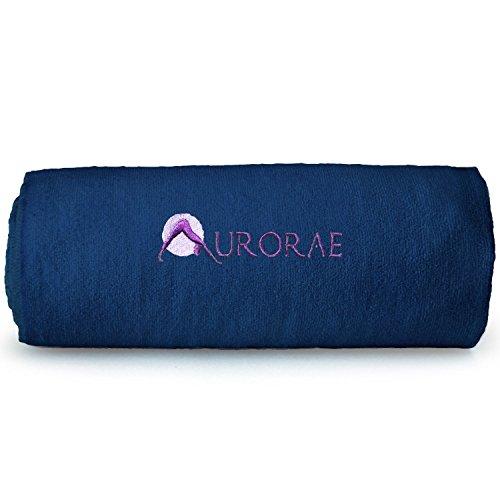 Aurorae Non Slip Hot Microfiber Yoga Mat Towel Yoga