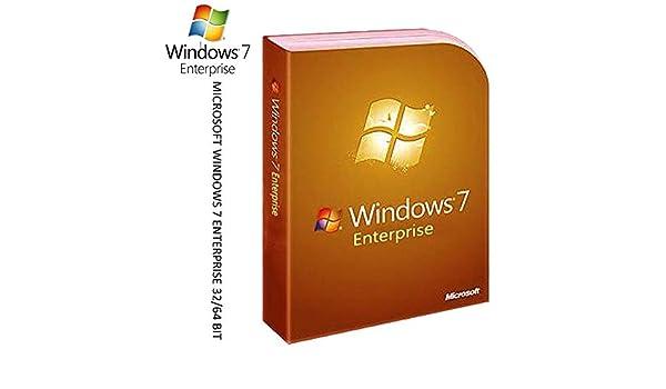 WINDOWS 7 Enterprise License Activation KEY code 32/64-Bit