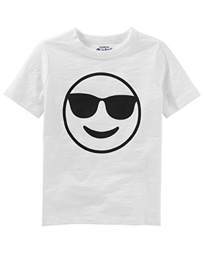 Osh Kosh Kids Graphic Tees, Smile Face, 10