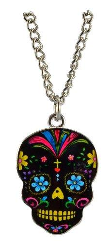 Sugar Skull Epoxy Necklace Chain product image
