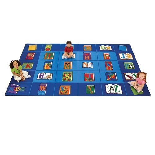 Carpets for Kids 2613 Reading by the Book Rectangle Carpet 8'4''x13'4''