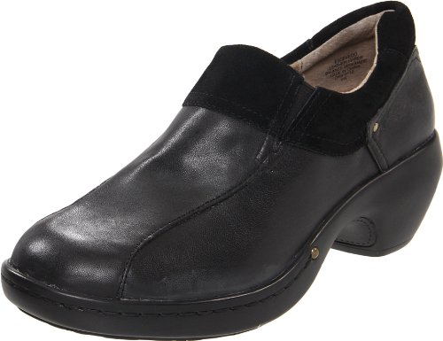 Easy Spirit Cevedo Leather Womens Clogs
