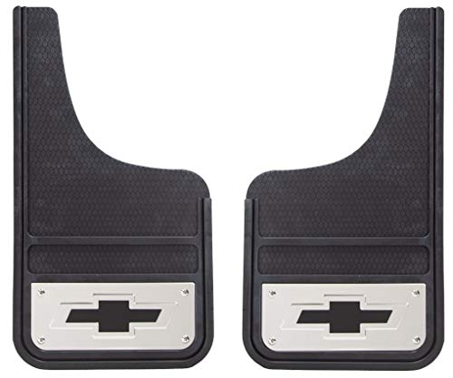 Plasticolor 001839R03 Heavy Duty Mud Guards 12x23 fit Chevy 88-19 ()