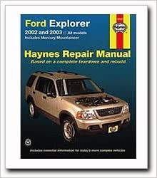 Ford explorer mercury mountaineer haynes repair manual 2002 2010 flip to back flip to front fandeluxe Image collections