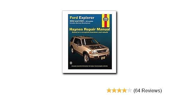 ford explorer mercury mountaineer haynes repair manual 2002 2010