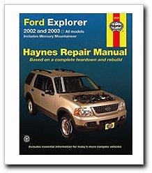 Mountaineer Explorer - Ford Explorer & Mercury Mountaineer Haynes Repair Manual (2002-2010)