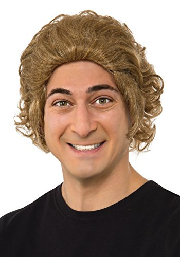 [Rubie's Costume Co. Men's Chocolate Factory Willy Wonka Wig, As Shown, One Size] (Willy Wonka Costume)