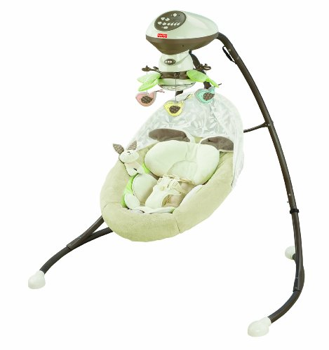 Snuggly Bunny (Fisher-Price Snugabunny Cradle 'N Swing with Smart Swing)