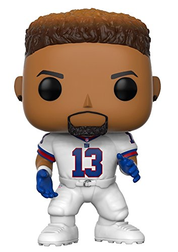 Funko Pop Nfl  Odell Beckham Jr   Giants Color Rush  Collectible Figure