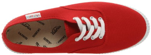 M & S Systems Adult Inglesa Lona, Unisex Sports Shoes Rouge (Rojo)