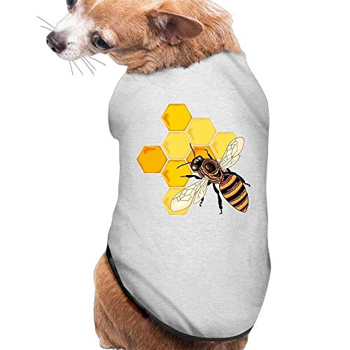 Avagea Dog Clothes, Coat, Costume,Sweater, Vest, Dog Cat Pet Shirt Clothes Puppy Vest Soft Thin Bee Gather Honey 3 Sizes 4 Colors Available