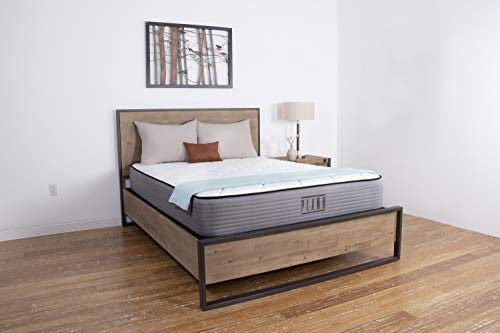 2 Sided Mattress - Plank by Brooklyn Bedding 11-Inch TitanFlex Two-Sided Firm Mattress, King