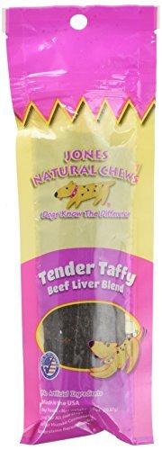 Jones Natural Chews Tender Taffy Beef Dog Treat by Jones